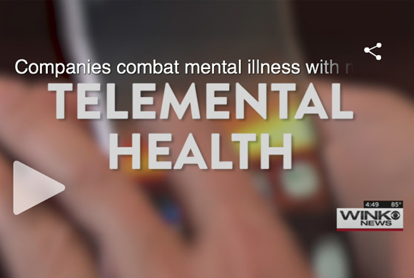 Companies combat mental illness with mobile apps
